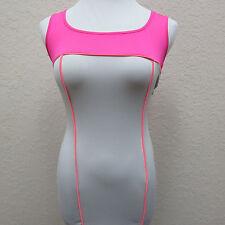 Asos Petite Size US 4 (EUR36) Pink Gray Color Block Body Hugging Dress Open Back