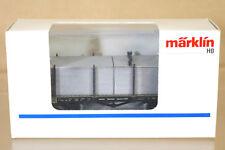 MARKLIN MäRKLIN 4684,900 DR GUTERWAGON MIT ALU PLATTEN RUNGENWAGEN WAGON & LOAD