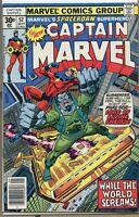 Captain Marvel 1968 series # 52 fine comic book