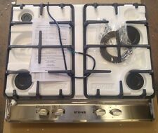 Stoves SGH600C 60cm 4 Burner Cast Iron Gas Hob - Stainless Steel (1849)