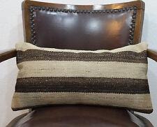 10x20 lumbar pillow organic wool lumbar pillow case kilim lumbar pillow
