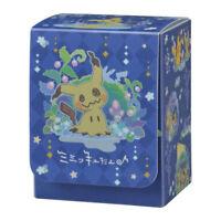Pokemon Center Limited snow Mimikyu Card Deck case