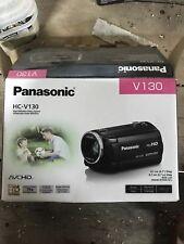 Panasonic HC-V130K Full HD 75X Camcorder Never Used