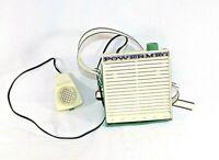 Vintage Electric Megaphone Powermeg by Emenee Sold as is UNTESTED PARTS REPAIR !