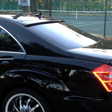 """IN STOCK LA PAINTED MERCEDES BENZ  W221 S-CLASS ROOF WINDOW SPOILER 2013 #040 ○"