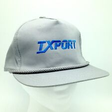 Ixport Vtg Computer Hardware Snapback Baseball Hat Cap Gray Blue Retro