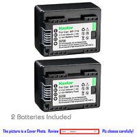 Kastar Battery Replacement for Canon BP-718 CG-700 Canon VIXIA HF R72 Camera