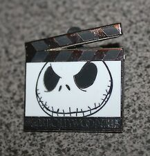 DISNEY PIN NIGHTMARE BEFORE CHRISTMAS JACK SKELLINGTON FILM CLAPBOARDS HOLLYWOOD