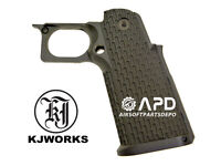 KJW Hi-Capa KP-06 Xcelerator Trigger Frame Grip Marui OD Green 5.1 4.3 tm