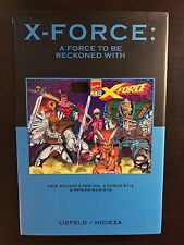 X-Force - A Force to be Reckoned With - Marvel Premiere Classic 59 HC Hardcover