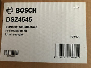 Bosch DSZ4545 -Recirculating Charcoal Air Filter Kit