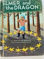 Elmer and the Dragon 1950 Hardcover Ex Library