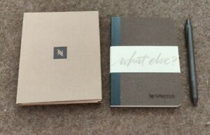 Nespresso Notebook And Pen