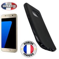 Coque Housse Silicone Noir Souple pour Samsung Galaxy S7 G930