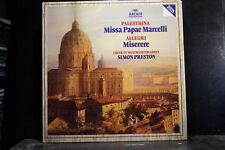 Palestrina - Missa Papae Marcelli/Allegri - Miserere / Choir Of Westminster Abbe