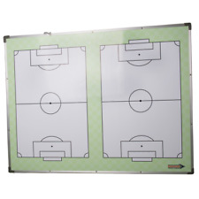 NEW DIAMOND FOOTBALL - DELUXE 2 PITCH TACTIC BOARD 120x90cm