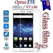2x Optus ZTE BLADE Blitz / V7 Lite Tempered Glass Screen Protector Film Guard
