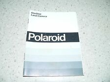 Original Vintage Polaroid OneStep Land Camera Instructions~VG/EX Condition