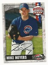 Mike Meyers 2000 Team Best Rookies Extended Autograph Card.# 18