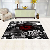 Naruto0 Area Rugs Mordern Carpet Anti-Skid Floor Mat Home Decor Flannel Rugs