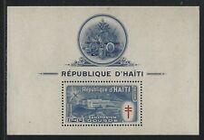 1949 Haiti Scott #CB8a - Mosquito & Sanatorium Air Mail Semi-postal Souv - MH