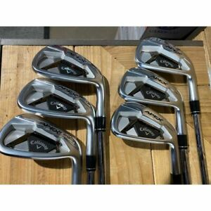 Callaway Apex Steel Irons Right Stiff Elevate ETS 95 5-PW Used 5 times