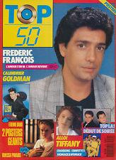 TOP 50 152 (30/1/89) FREDERIC FRANCOIS VANESSA PARADIS NIAGARA GOLDMAN BURNEL