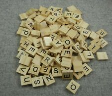 Scrabble Letter Tiles Lot of 150+ replacement game parts crafts wood square