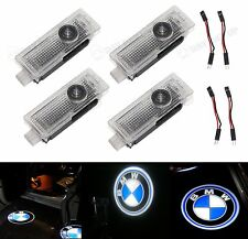 4X Car Door Courtesy Logo Laser Projector Shadow Welcome Light for BMW UK STOCK