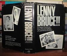 LADIES AND GENTLEMEN LENNY BRUCE<>BCE<><HB 1974 OOP BOOK W/DUST JACKET