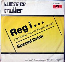 Single / WERNER MÜLLER / PROKOPETZ / AUSTRIA / RARITÄT /