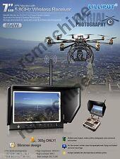 "Lilliput 7"" 664/W SLIM IPS Monitor 5.8G Hz for Aerial Flying Wireless Phantom 2"
