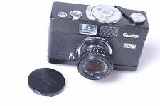 ✅ ROLLEI B35 WITH 40MM 3.5 TRIOTAR. 100% WORKING