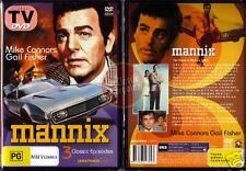 MANNIX Mike Connors, Gail Fisher 3-episodes TV NEW DVD