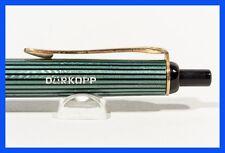 PELIKAN 355 DÜRKOPP Kugelschreiber 50er J. grün-gestreift, Design Klassiker