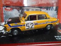 POLSKY FIAT 125P RALLY MONTE CARLO 1972 MUCHA ALTAYA IXO 1:43