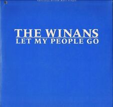 "THE WINANS let my people go 0-203 80 qwest 1985 12"" PS VG+/EX"