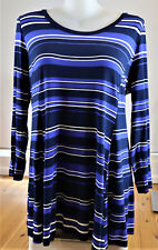 AUTOGRAPH SIZE 18 LONG SLEEVED STRIPED TUNIC     (1 ONLY) RRP $59.95