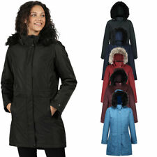 Regatta Womens Lexis Waterproof Insulated Parka Coat Jacket