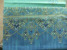 Granfoulard Bassetti BEETLI 180x270 sofa cover tenda copridivano telo azzurro