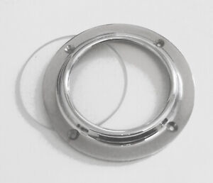 """Canal boat 71mm (2.3/4"""") chrome porthole complete with clear glass  CP003G"""