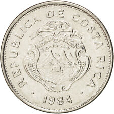 [#38928] Costa Rica, Colon, 1984, KM:210.2, AU(55-58), Stainless Steel