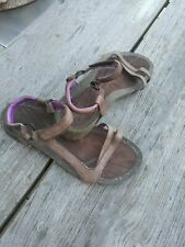 SALE!!!TEVA Sandalen Sandaletten Größe 38 Leder Kork Keilabsatz Neu