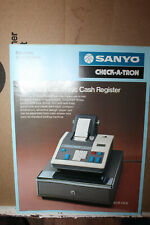 Vintage Sanyo Check-A-Tron Cash Register Spec Sheet Model ECR 01LB Rare 1976