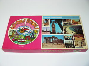 Cooks Tour – European Travel Board Game Vintage Selchow & Righter No. 24 1972