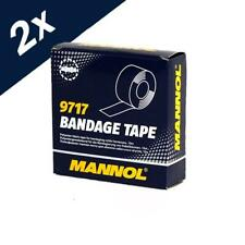 2x10m MANNOL Bandage Tape Cable Harnesses Electrical Connections Dirt Repellent