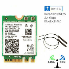 for Intel AX200 Dual Band 2.4gbps 2400mbps Desktop Wireless Card Bluetooth