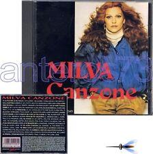 """MILVA """"CANZONE"""" RARO CD STAMPA ITALIANA - SIGILLATO"""