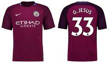 Trikot Nike Manchester City 2017-2018 Away - G.Jesus 33 [128 bis XXL]