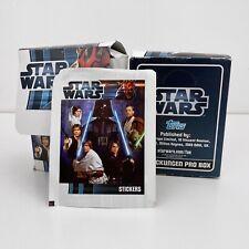 Star Wars Topps Sticker 99 Tüten Booster Päckchen Display 2012 Neu Ungeöffnet